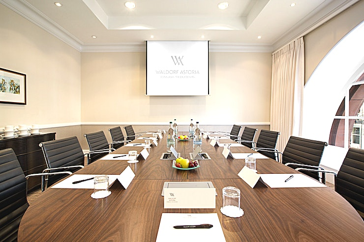 Braemar **Hire Braemar at Waldorf Astoria Edinburgh for a fantastic meeting room hire in Edinburgh.**