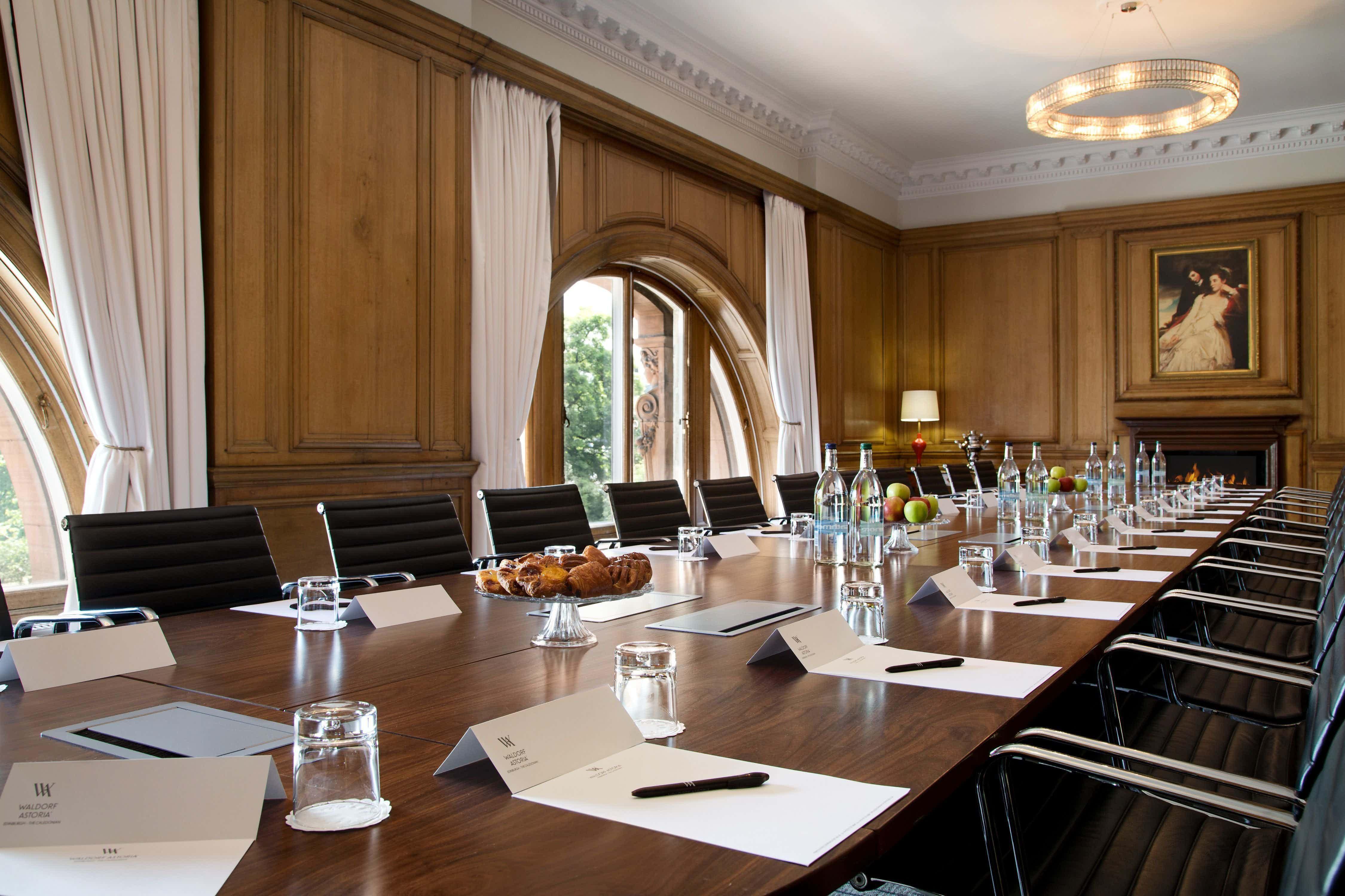 The Boardroom, Waldorf Astoria Edinburgh - The Caledonian