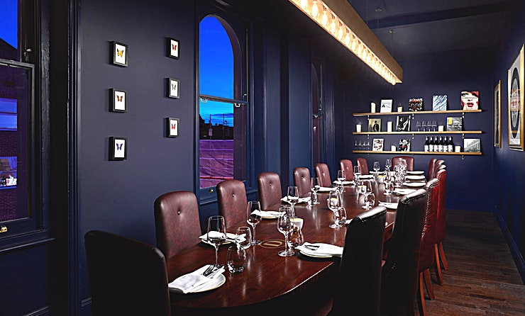 The Boardroom **Hire The Boardroom at The Distillery for a private drinking and dining experience that won't be forgotten in a hurry**