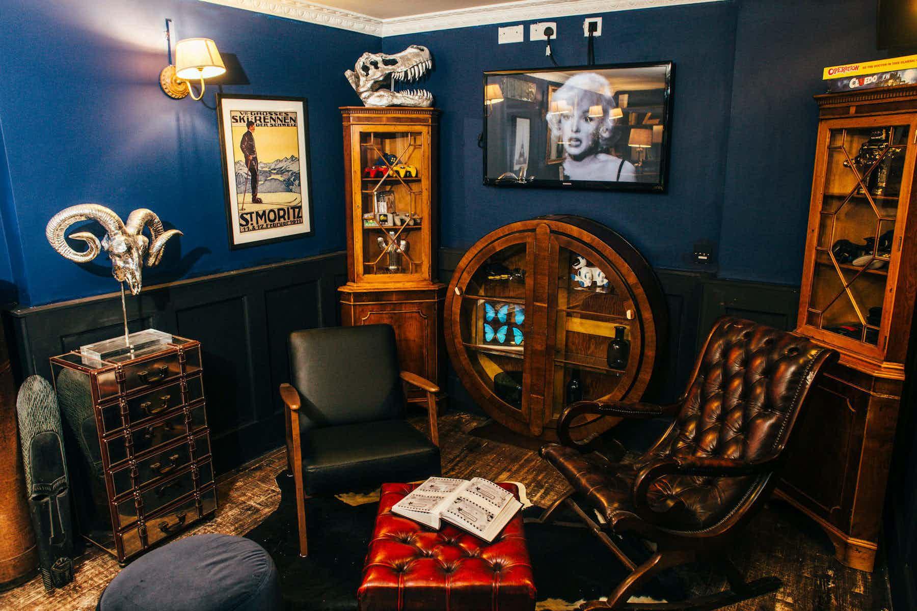 The Study, The Little Blue Door