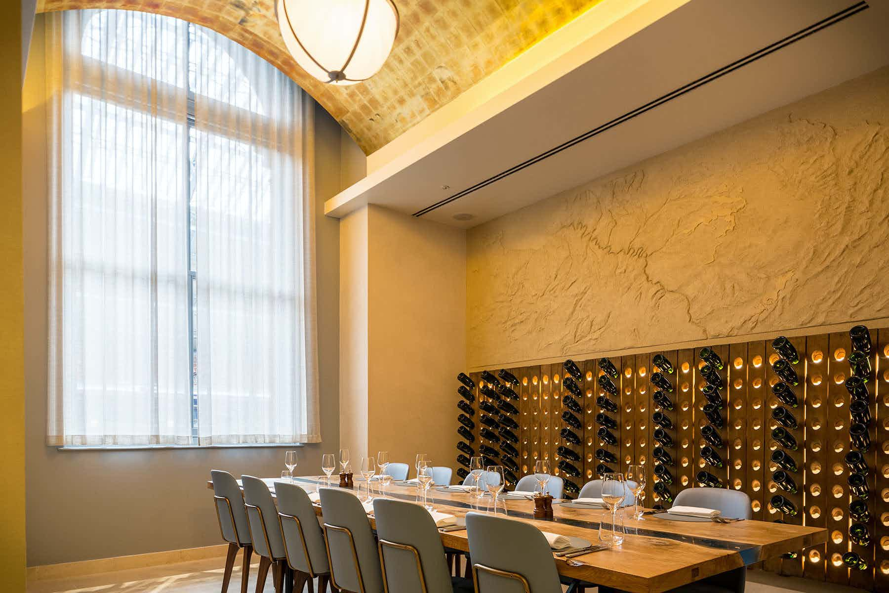 The Tasting Room , St Pancras Brasserie and Champagne Bar by Searcys