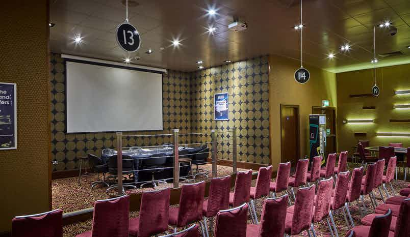 Poker Room, Grosvenor Casino Manchester Bury New Road
