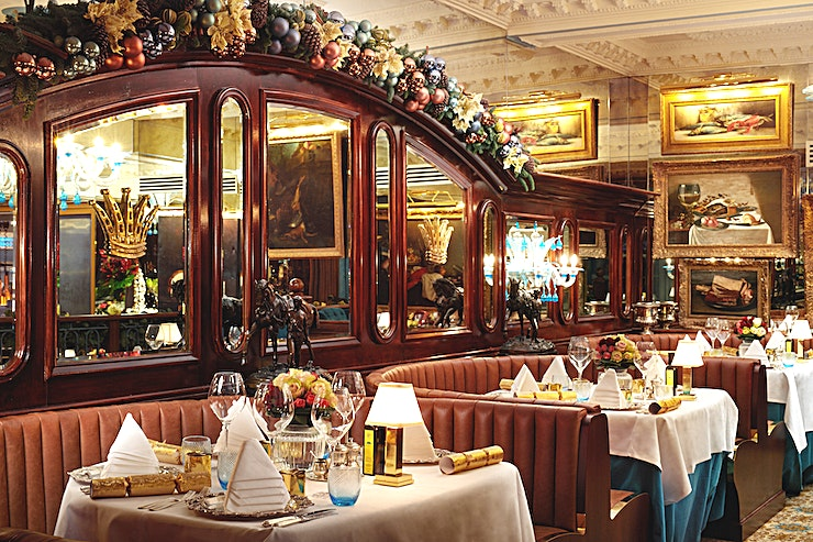 English Grill **Hire the English Grill at The Rubens at the Palace Hotel.**  Opulently designed with a rich royal theme of grandeur with polished silver, beautiful chandeliers and tailcoat waiters offering tradit