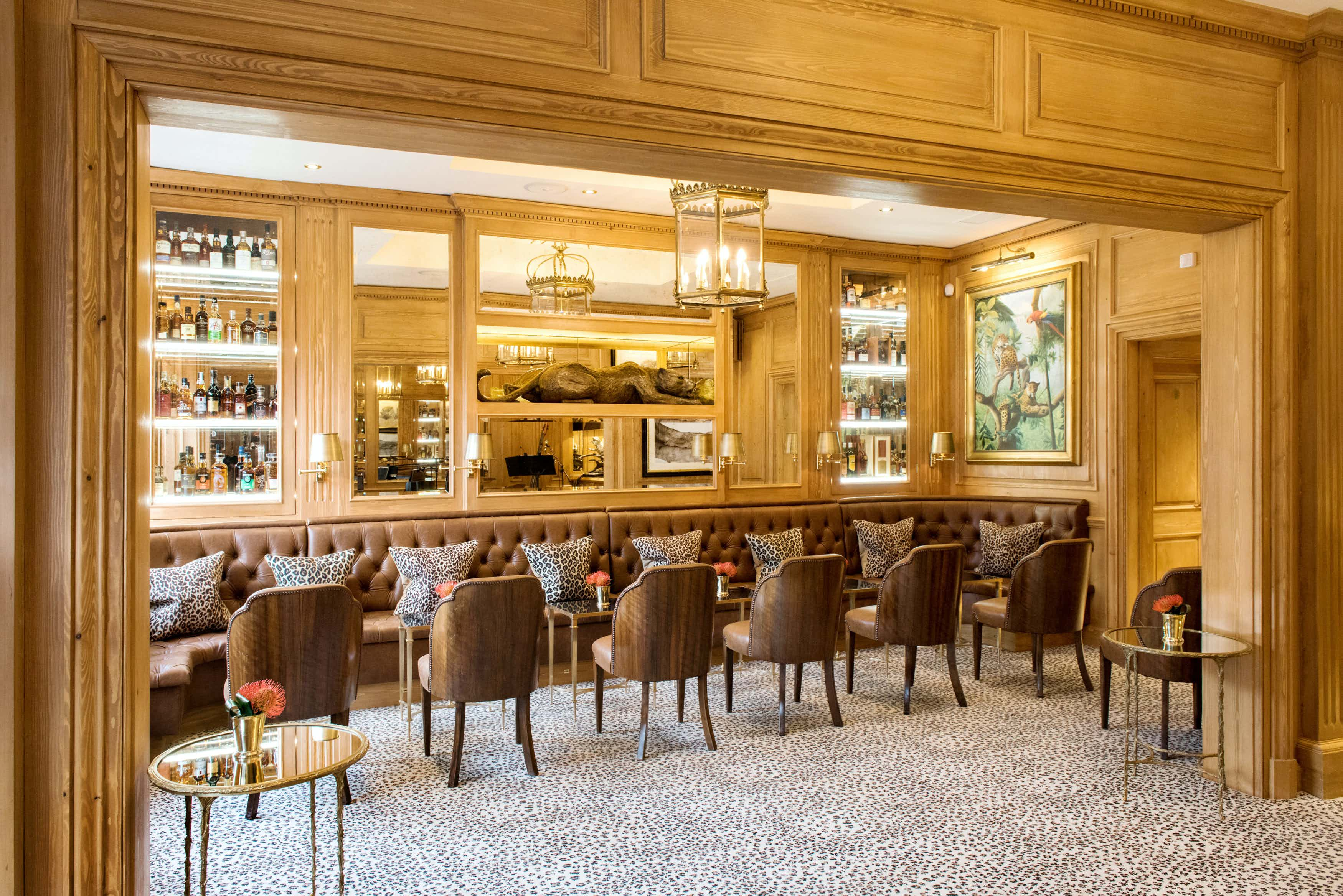 Leopard Bar, The Rubens at the Palace Hotel