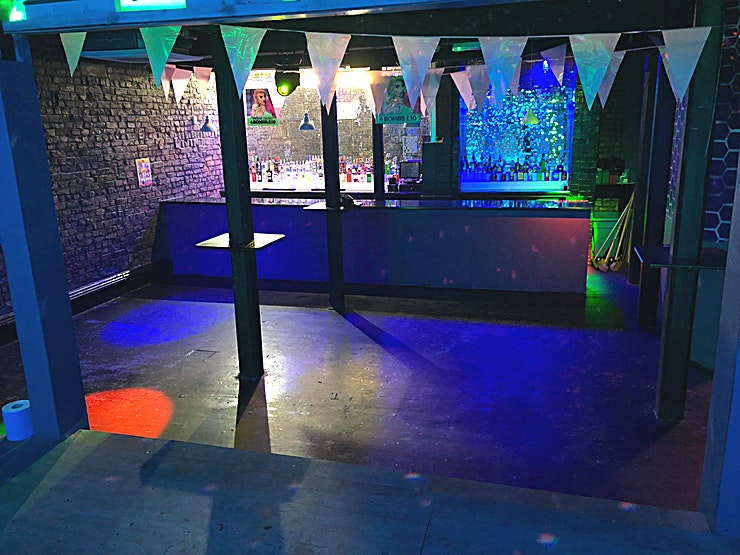 Club Room **Need venue hire options in Liverpool? Hire the Club Room at OUT Liverpool.** 
