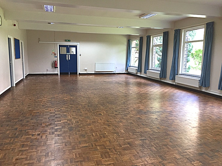 Lower Hall **Hire the Lower Hall at St Mark's Halls for an upcoming corporate event.**  The Lower Hall is a light, peaceful, flexible and private space with an original parquet floor and a fully equipped servi