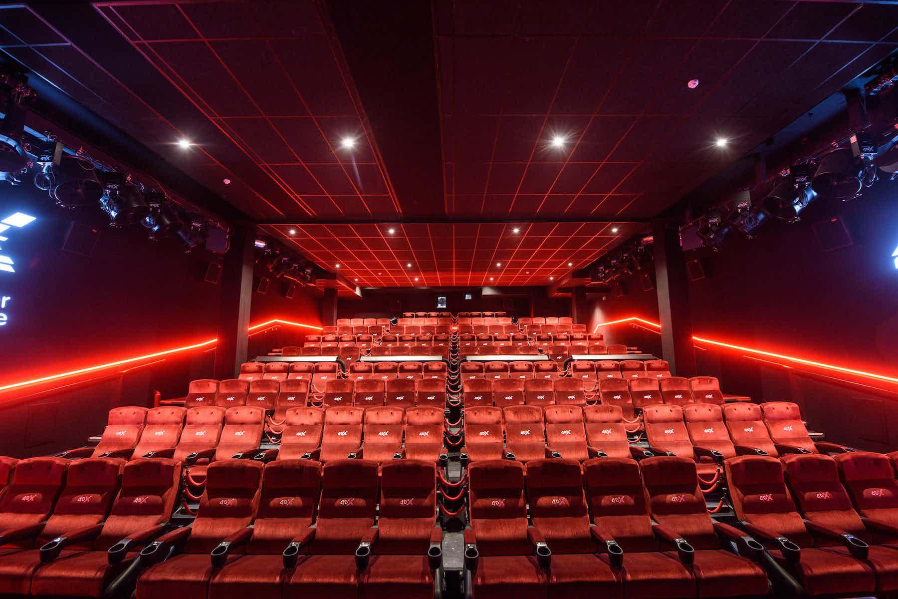 4DX, Cineworld Leicester Square
