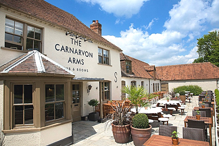 Exclusive Use Venue Hire **Hire The Carnarvon Arms for your private venue hire in Newbury**