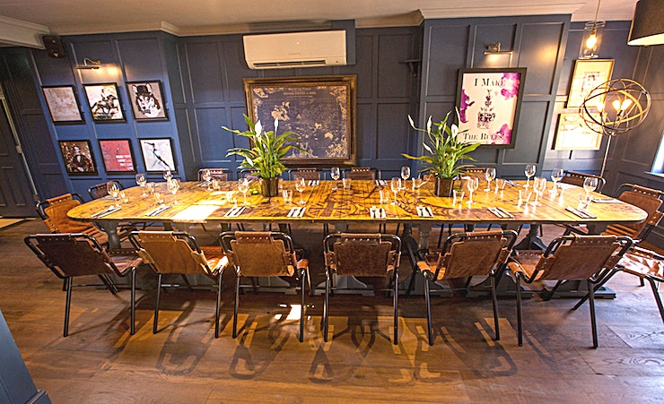 Monty **Hire The Britannia for a fantastic venue hire in London**  Tucked away just off Kensington High Street, in the centre of Kensington and Chelsea, The Britannia once known as The Britannia Brewery T