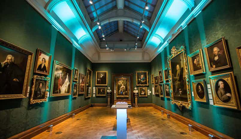 17th & 18th Century Galleries, National Portrait Gallery