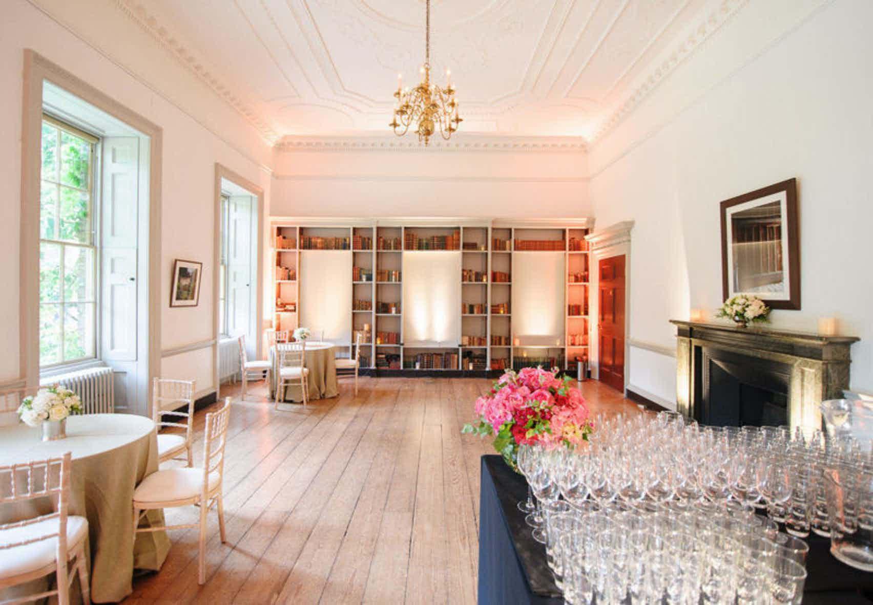 Bishops Terricks Drawing & Dining Room, Fulham Palace