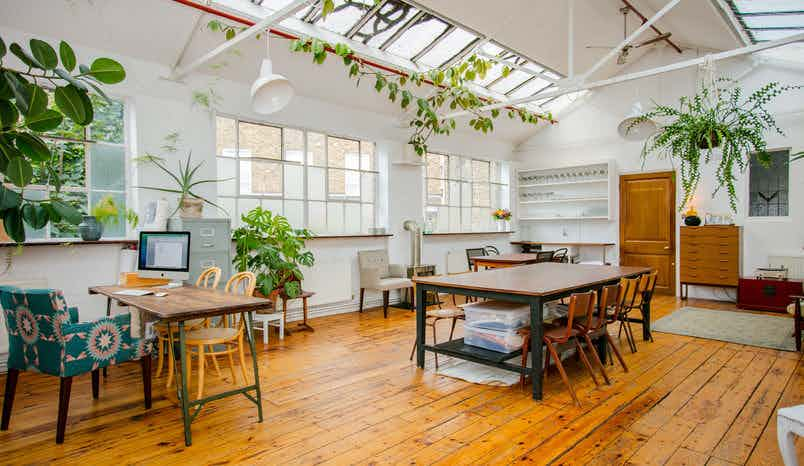 Photographic studio and studio kitchen, Cocina Shoreditch