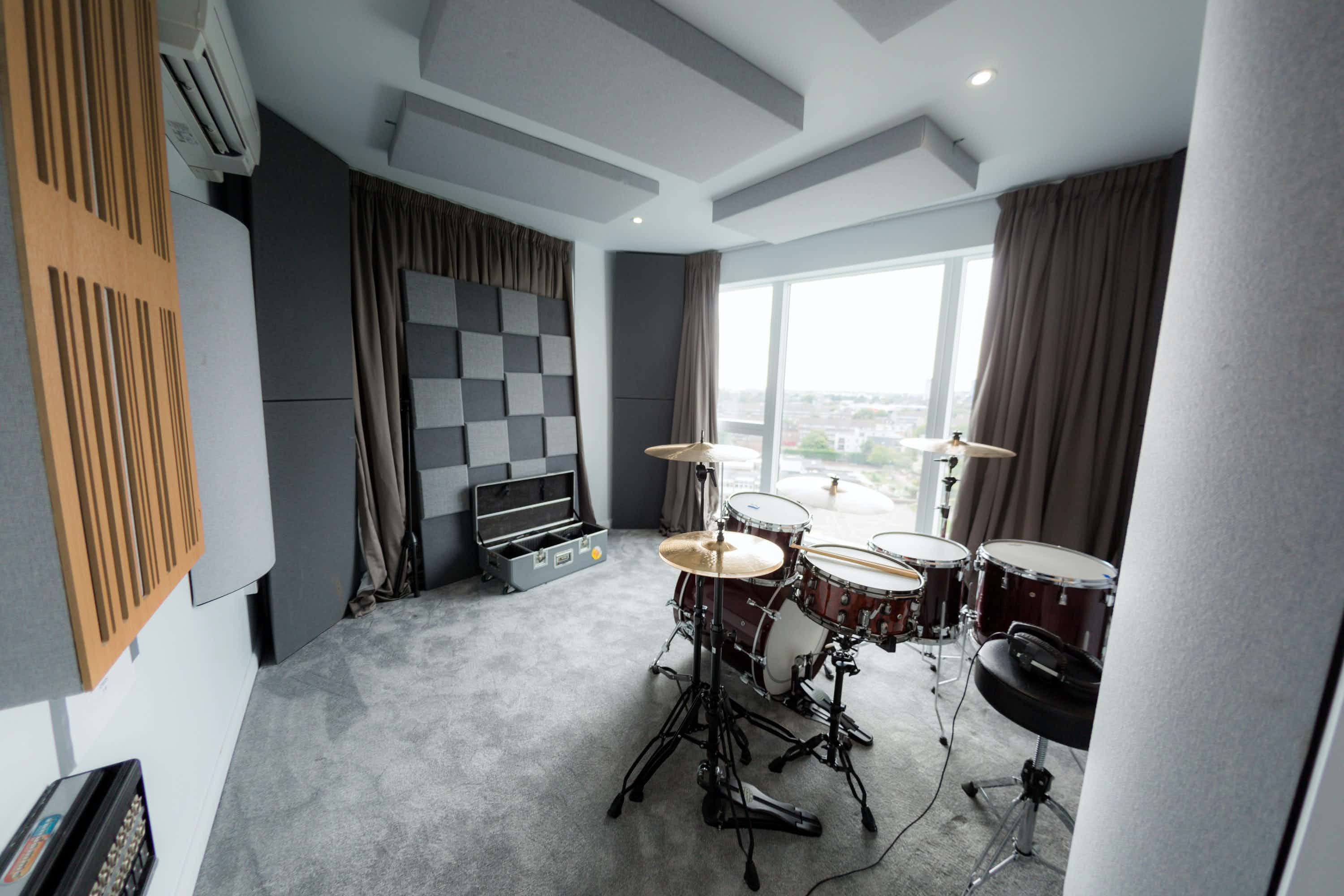 Stunning Penthouse Recording Studio in West London, SkyTop Productions