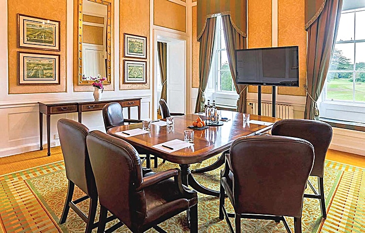 Edinburgh Room **Searching for a stunning Scottish location to host your next small event? The Edinburgh Room at The Dalmahoy Hotel and Country Club is sublime**