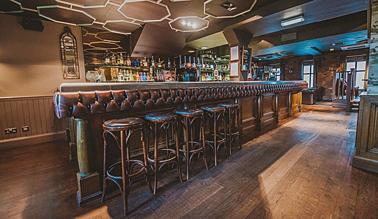 Private Room **Furnished in rich, warm splendour, The Golf Tavern offers an incredible option for private hire**