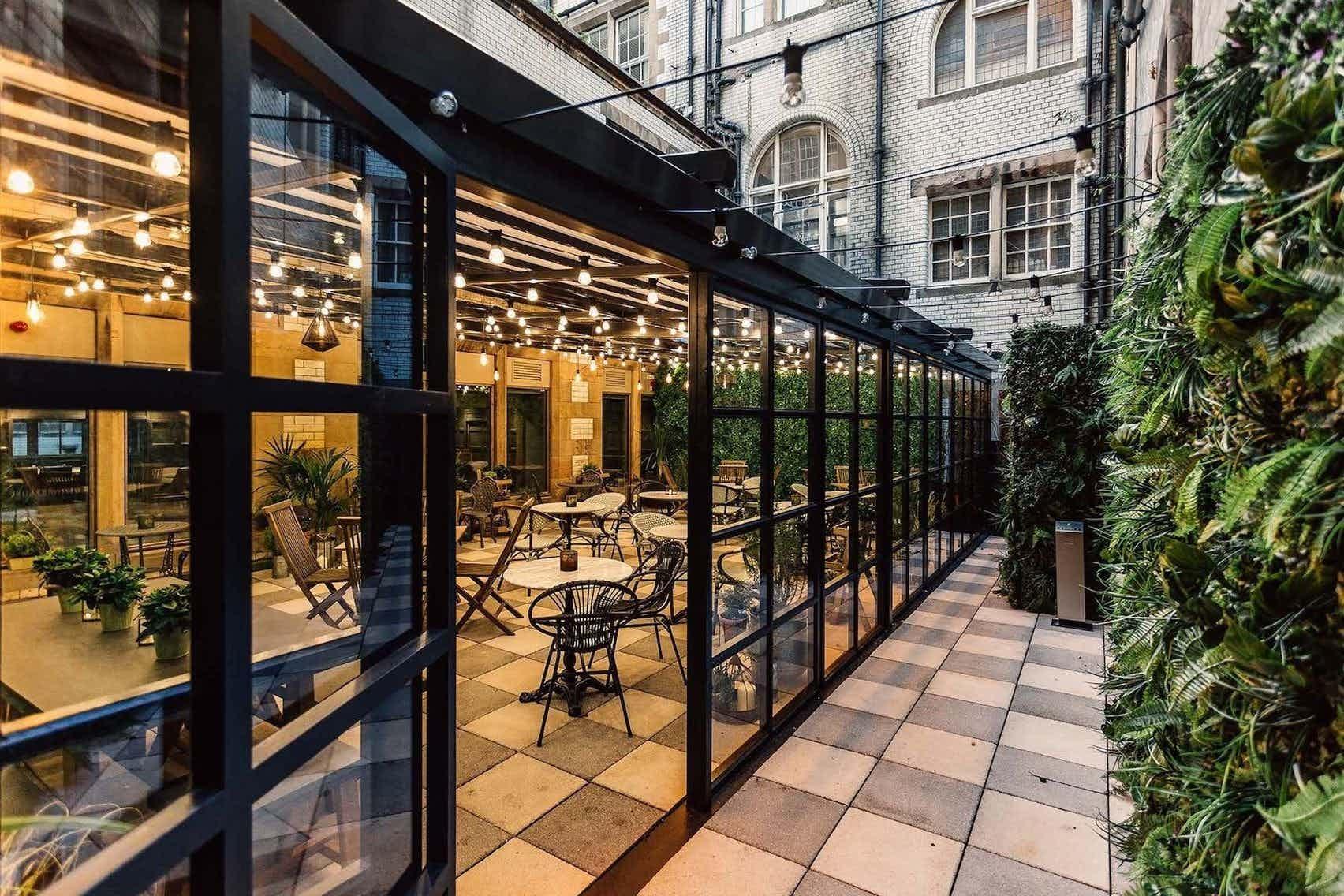 The Glenfiddich Garden Suite, The Scotsman Hotel & Grand Café