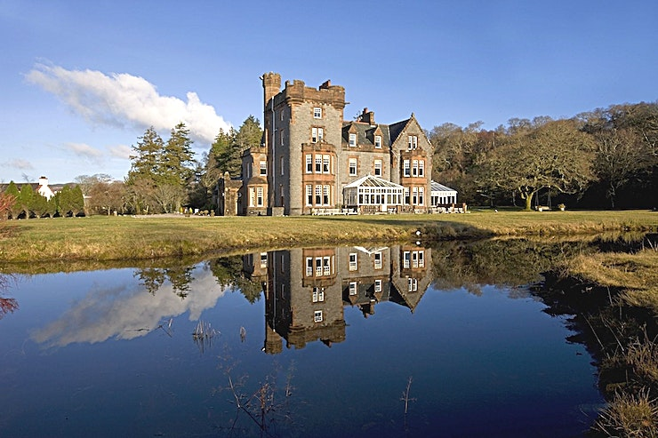 Exclusive Use **Looking to impress your Guests? What better way to make an impact but to announce your away day on a private Scottish island? Isle of Eriska gives you the option**  There's a certain magic about s