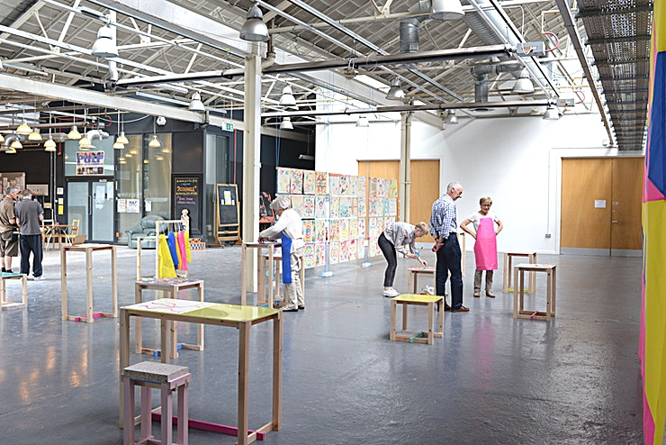 Venue Hire **Ideal for exhibitions and personalised events, this Space offers a blank canvas for any occasion**