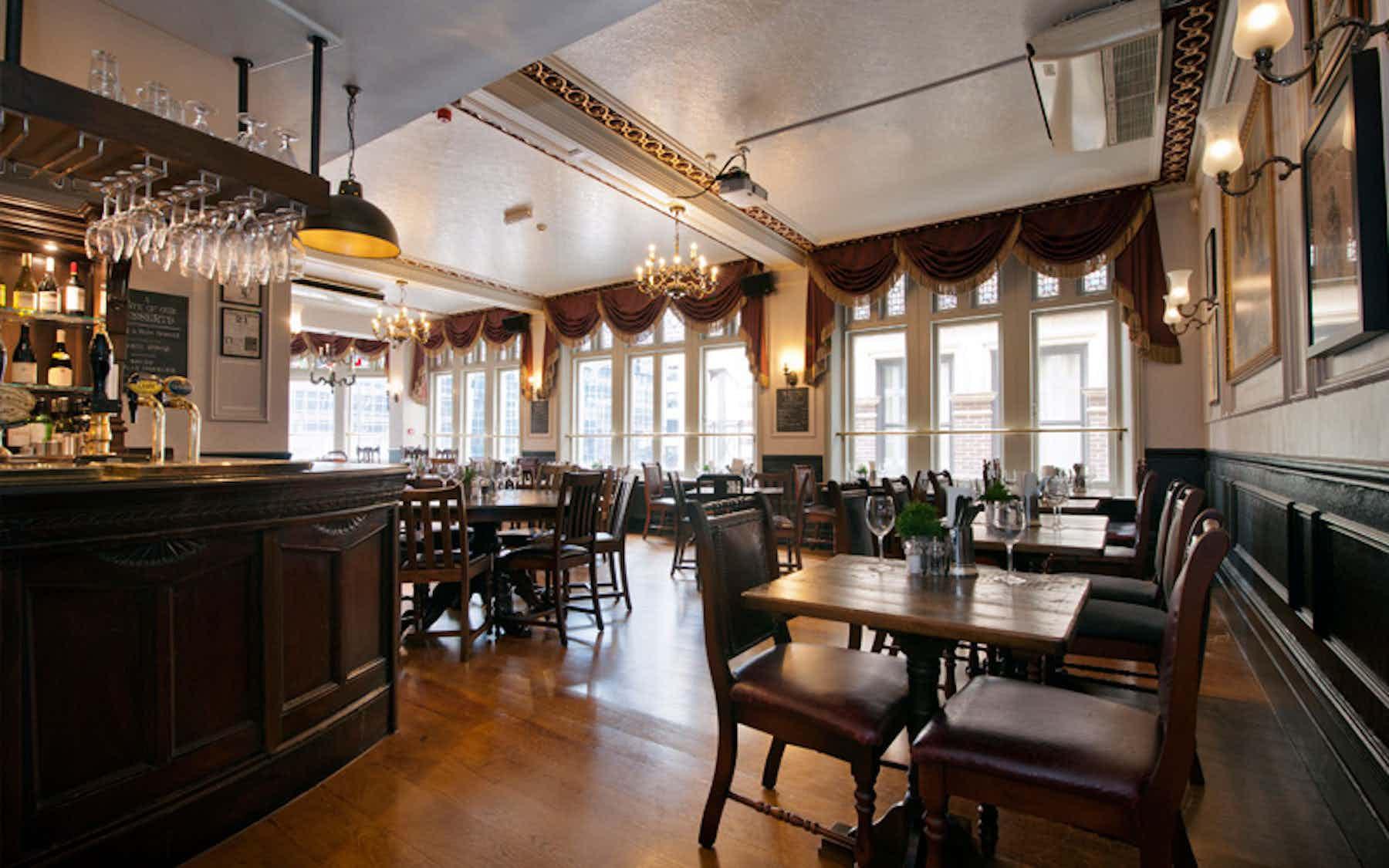 Upstairs Dining Area, Walrus & Carpenter
