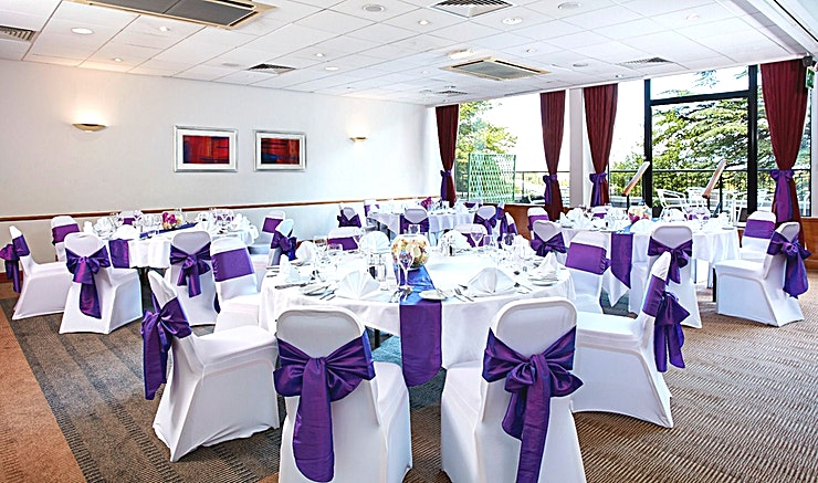 Heather and Thistle **Combine Heather and Thistle at Holiday Inn Edinburgh City West for a spacious, modern meeting room hire in Edinburgh.**