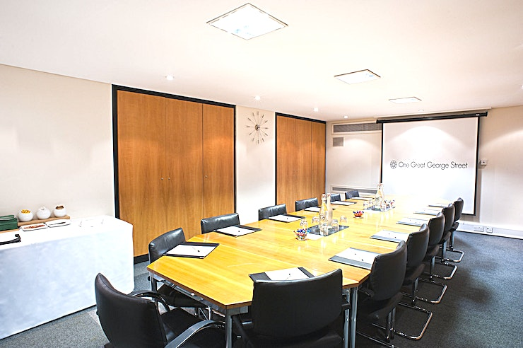 Rankine Room **Crisp and contemporary, the Rankine Room at One Great George Street presents an incredible option for meeting room hire in London**