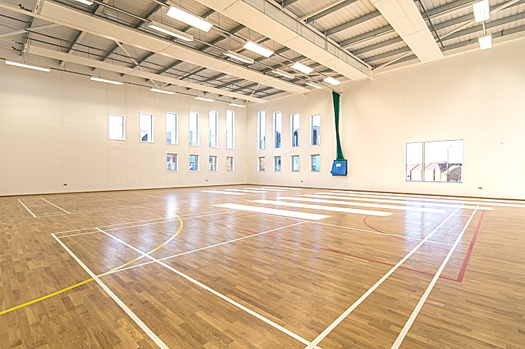 Sports Hall **For a blank canvas Space able to transform into your dream event, Lyde Green Community Centre has the Space for you**