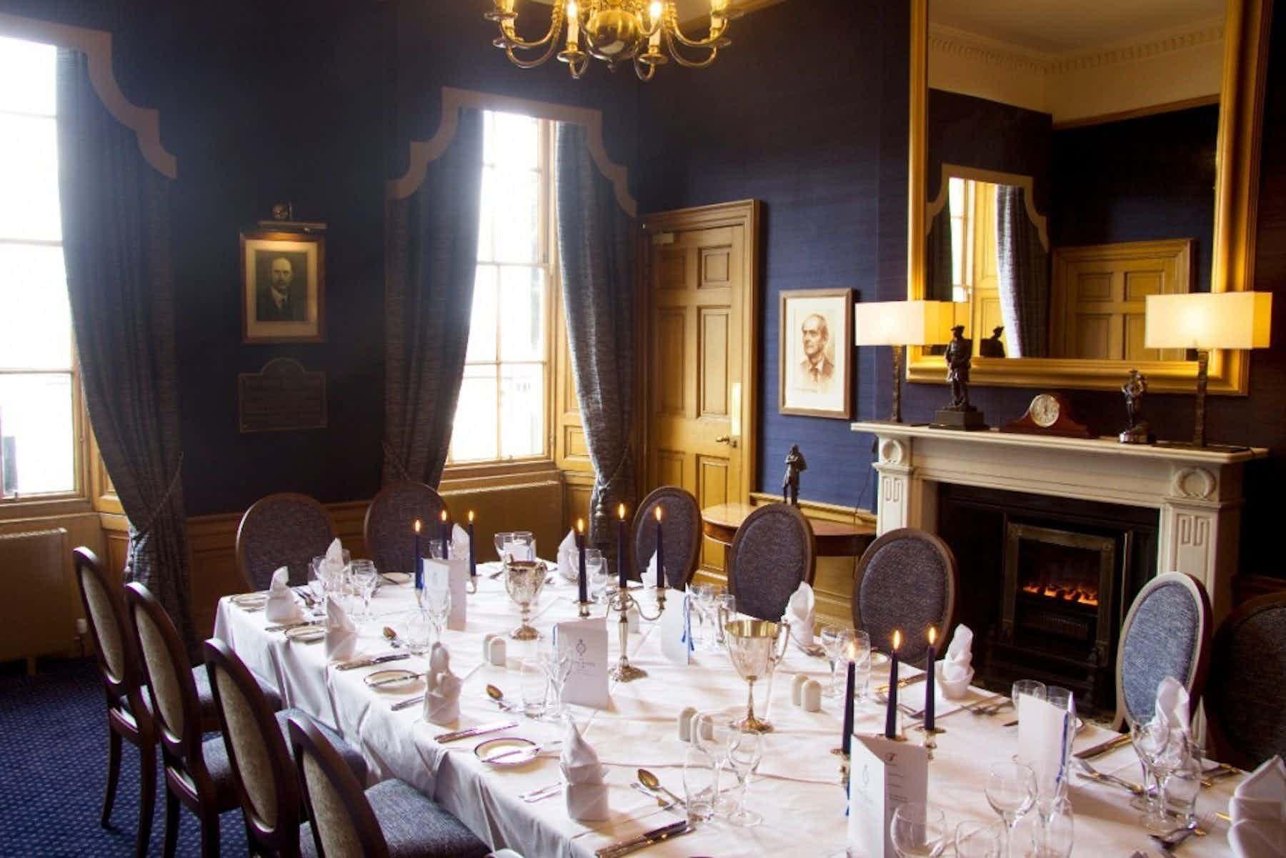 The Scott Room, Royal Scots Club
