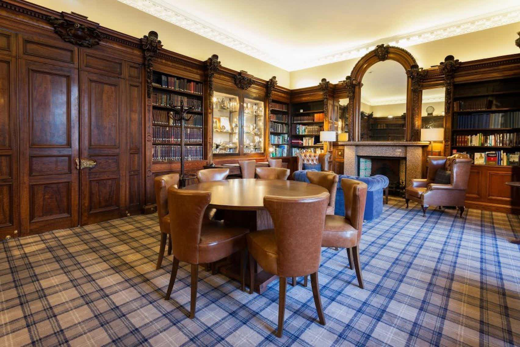 The Members' Library, Royal Scots Club
