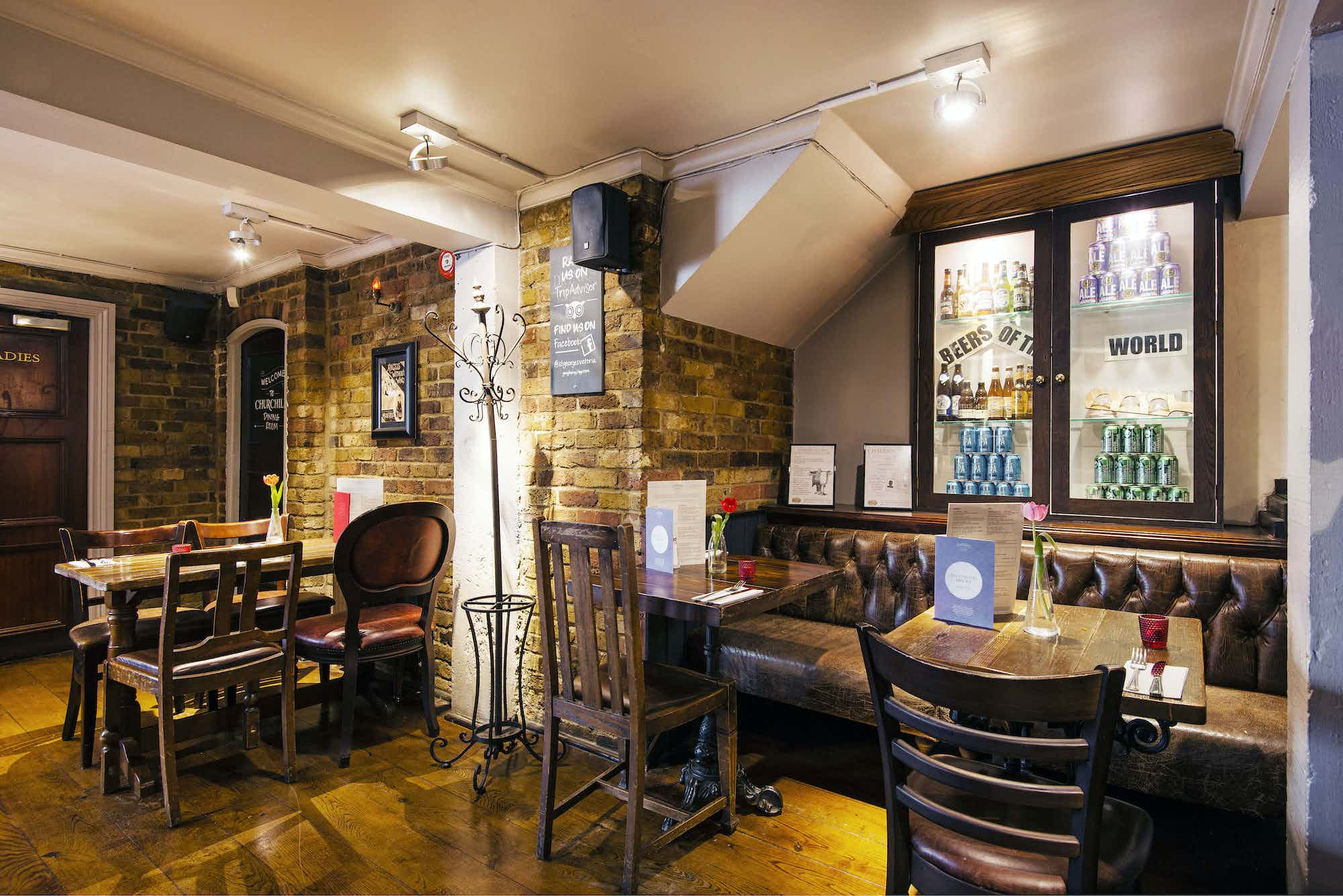 Churchill's Dining Room, St Georges Tavern