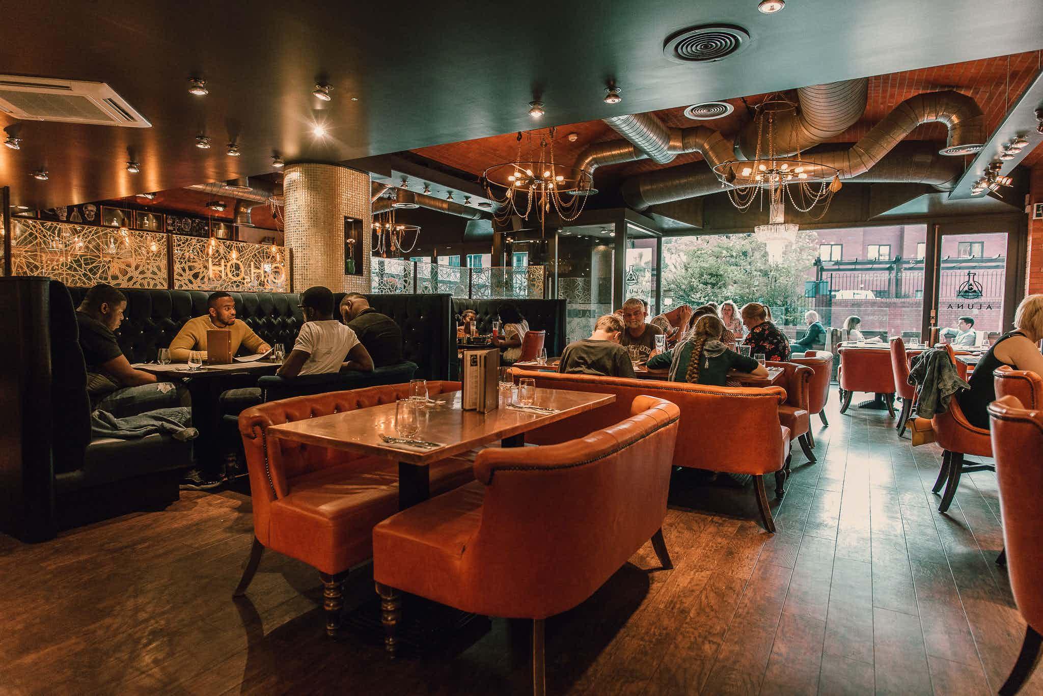 Restaurant, Aluna Birmingham