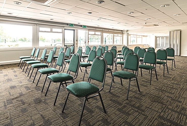 Windsor **For an event Space designed with corporate hire in mind, the Windsor room at Silhillians Sports Club & Conference Centre is the perfect option for you**  This Space can be hired in conjunction with the Fetherston room to create a large event Space ideal for conferences and other corporate occasions.  The Conference Centre at Silhillians has an abundance of facilities available to ensure the success of your event including 3 fully adaptable and multifunctional event rooms offering the perfect environment for a successful and effective meeting.  This particular Space has the capability to expand in a marquee area and is filled with plenty of natural light.  With state of the art facilities, plenty of free parking and free high-speed wi-fi, we offer the perfect location for your conferences and seminars, meetings, training and team-building days.