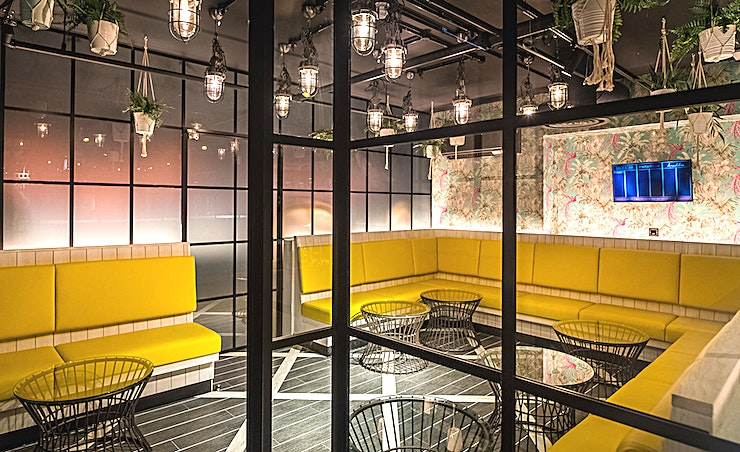 The Sun Room **Looking for a small event Space for a team celebration? Swingers West End has the Space for you**