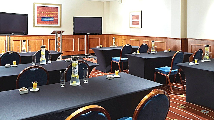 Dublin Room **For a meeting Space in a modern hotel venue, the Dublin Room is ideal**