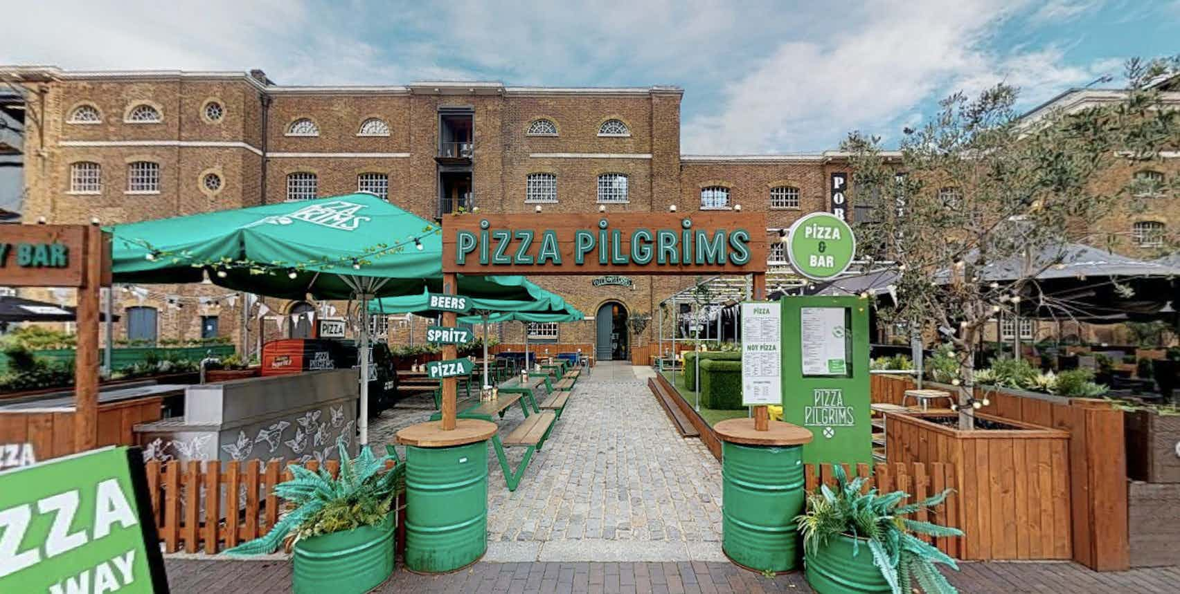 Book Quay Side Terrace At Pizza Pilgrims West India Quay A