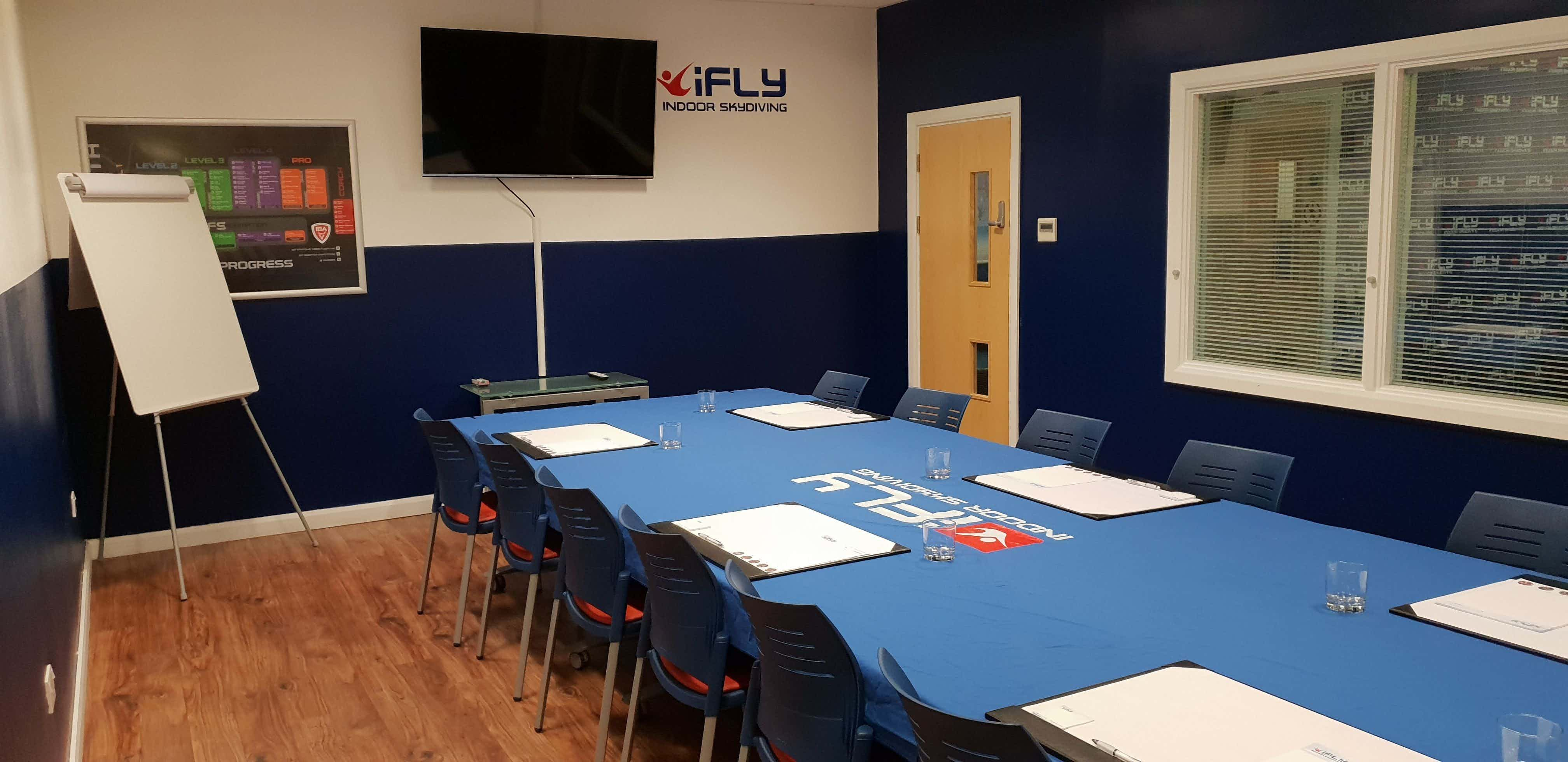 Conference Room, iFLY Manchester