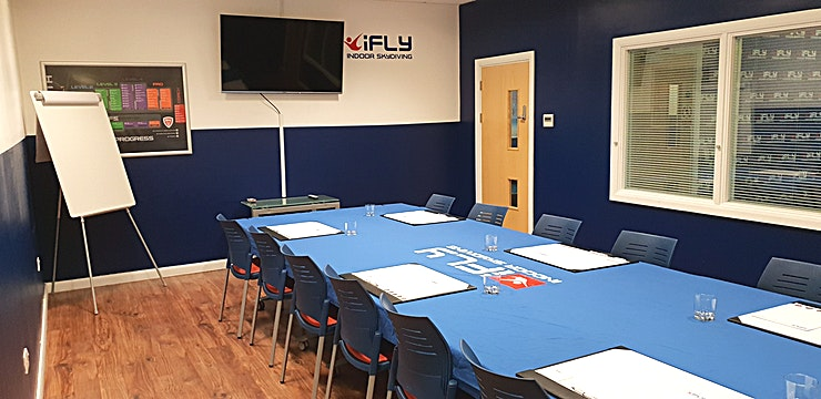 Conference Room **For a conference Space in an exciting setting, it doesn't get much better than iFLY Manchester**
