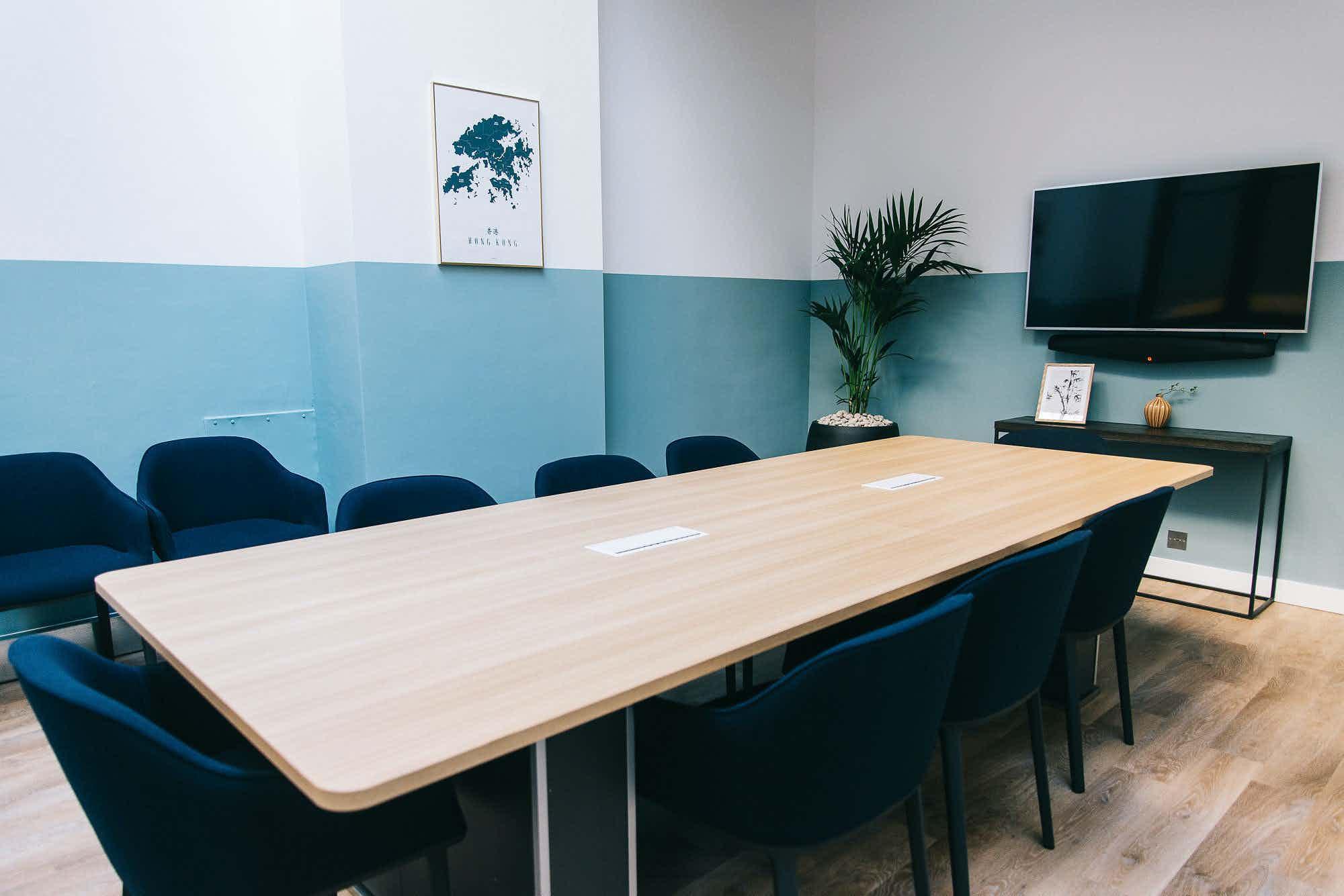 'Bonham' Boardroom Meeting Space, Campfire Shoreditch