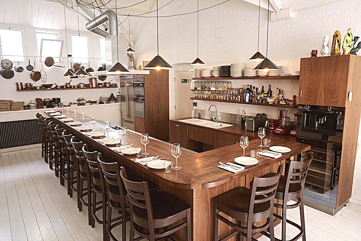 Mark's Kitchen Library **Hire Mark's Kitchen Library for one of the best private dining venues London has to offer.**   Mark's Kitchen Library is located above iconic Tramshed in Shoreditch and is home to 2 unique private
