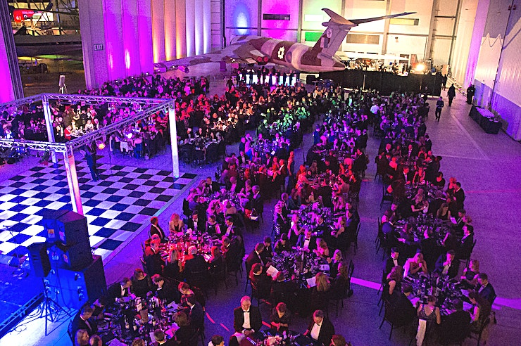 Conservation Hall **IWM Duxford offers a Cambridgeshire venue with incredible history**