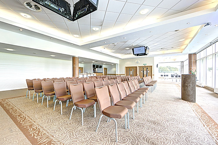 Gallops Suite **Host a dazzling intimate drinks reception at Epsom Downs Racecourse in the Gallops Suite**