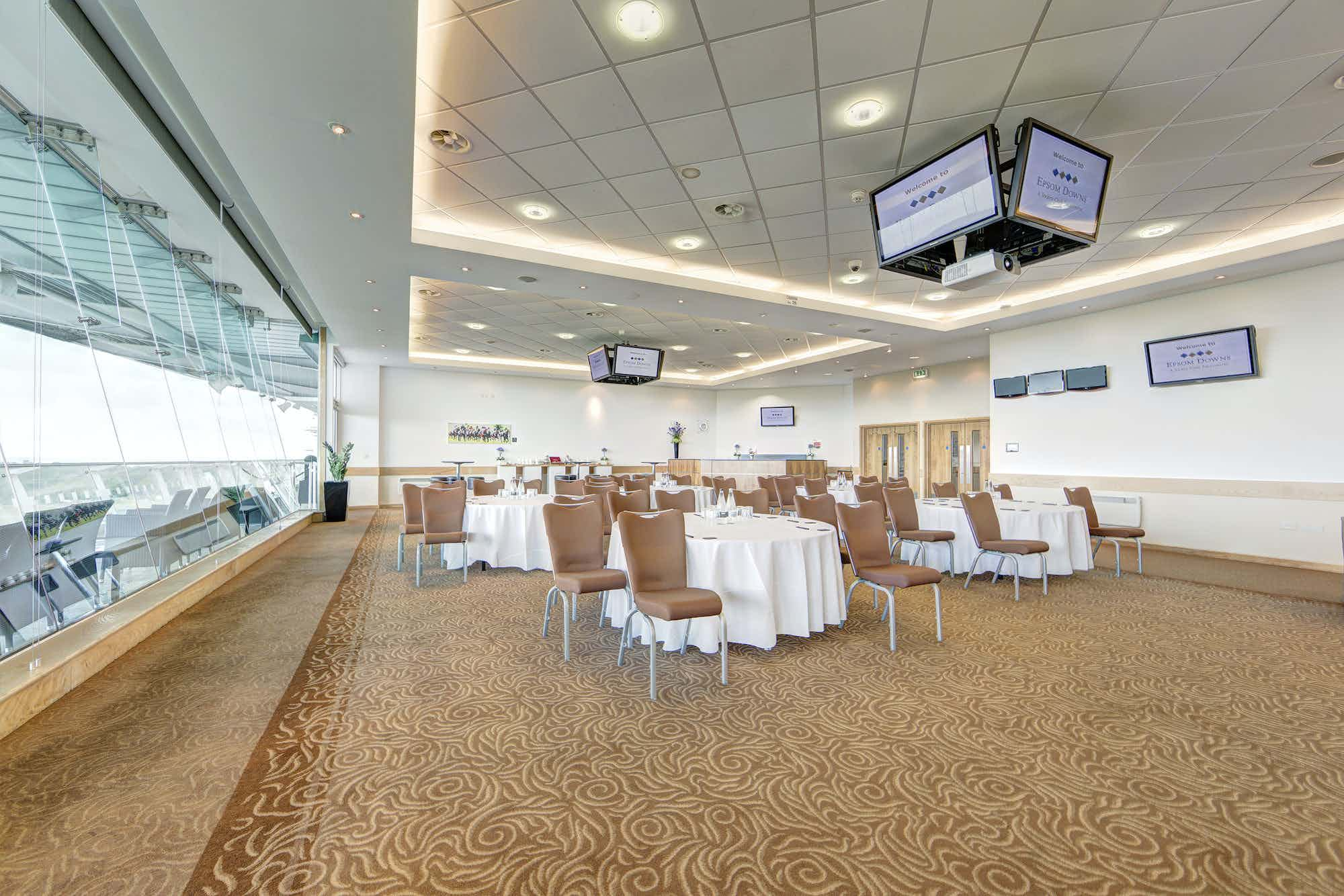 Downs View Room, Epsom Downs Racecourse