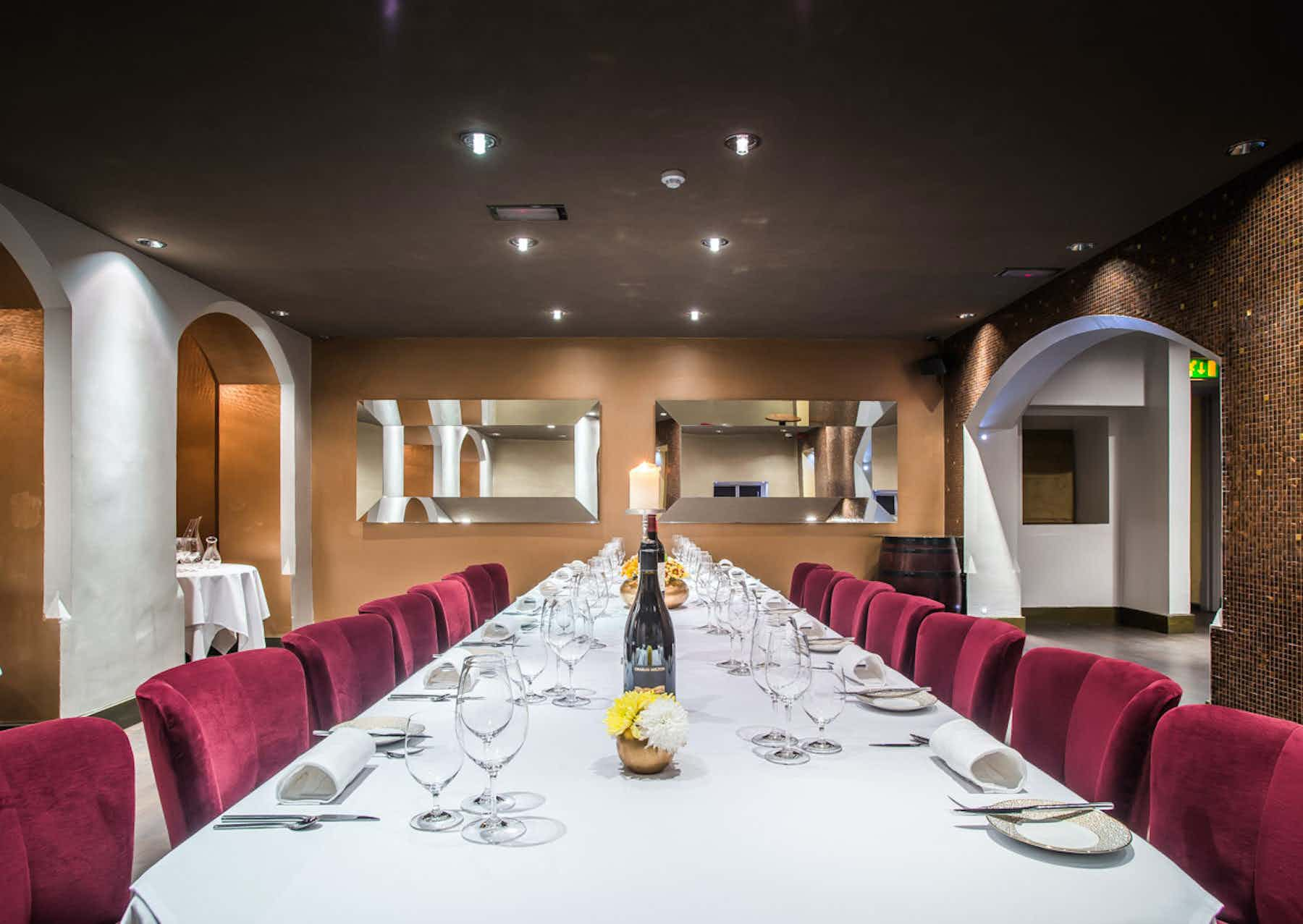 LaCave - Private Dining, event & board room, Park House Restaurant & Fine Wine Bar