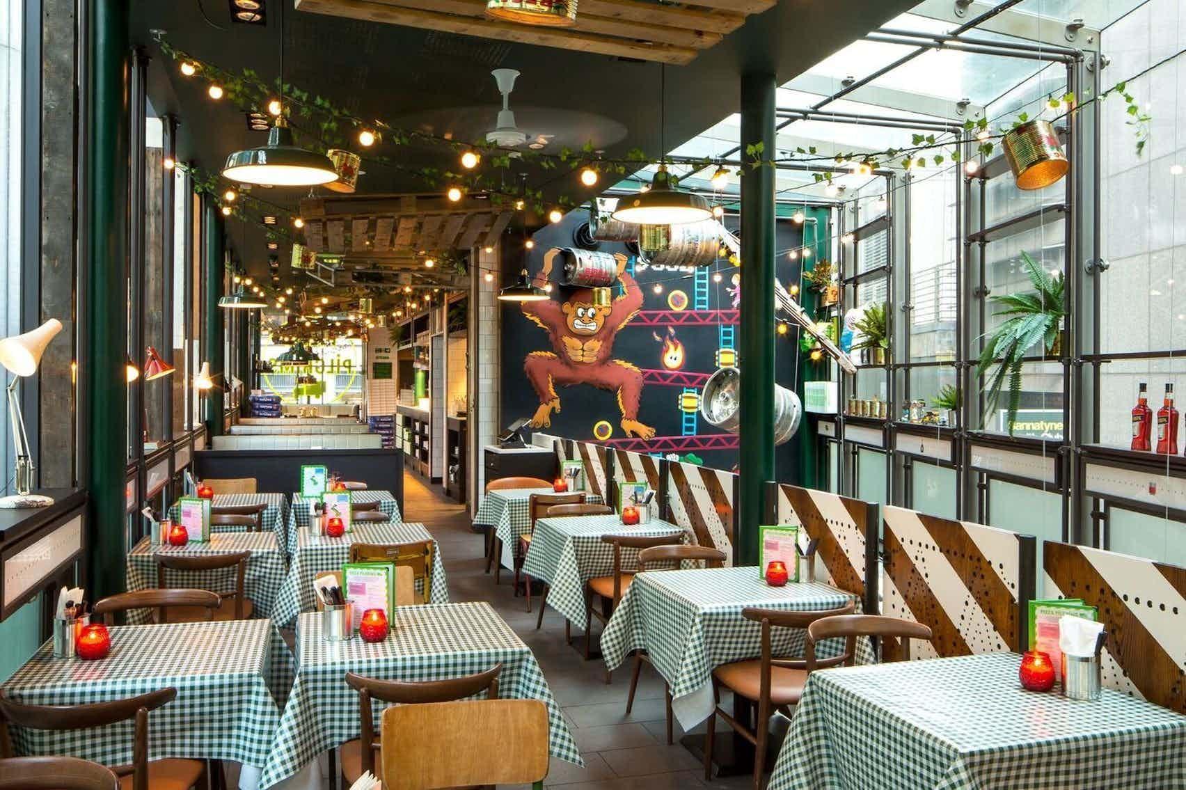 Book Exclusive Use At Pizza Pilgrims City A London Venue