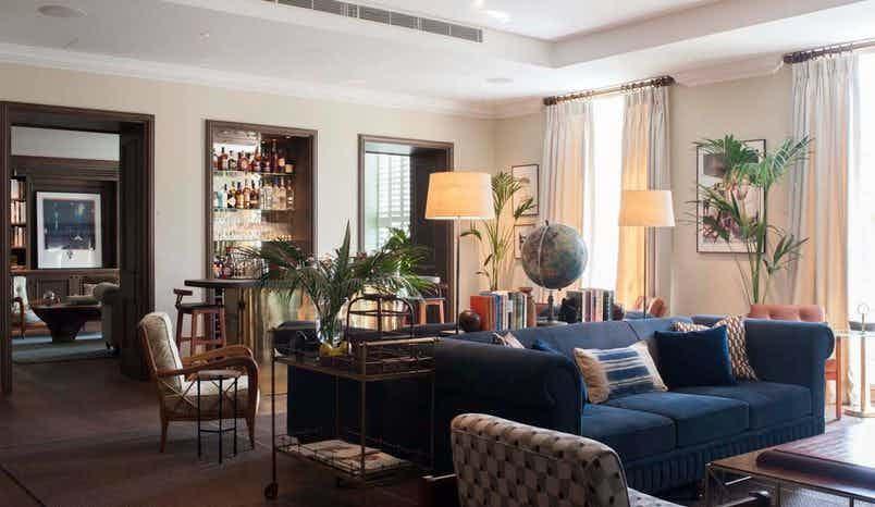 Lounge, South Kensington Club
