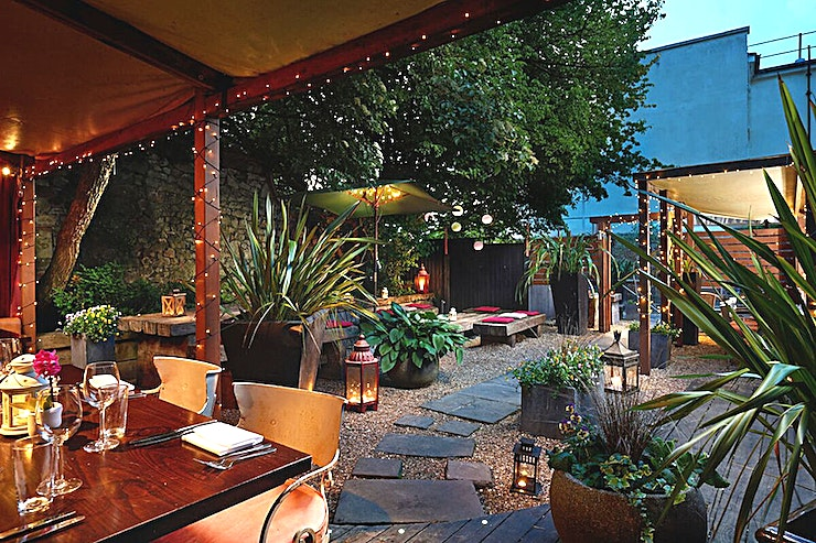 Lower Deck Cocktail Bar & Terrace **The Lower Deck Cocktail Bar & Terrace at The Square Club is a stunning Clifton Cocktail Bar for hire near Bristol.**
