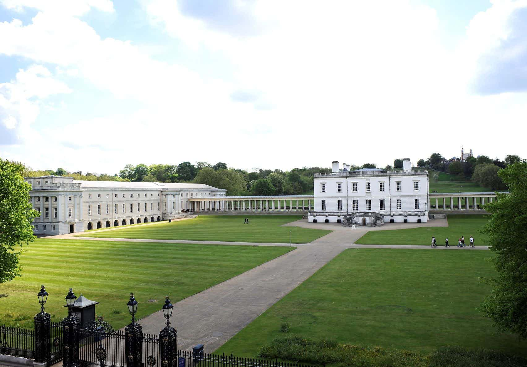 South East Lawn , The Grounds at the Royal Museums Greenwich