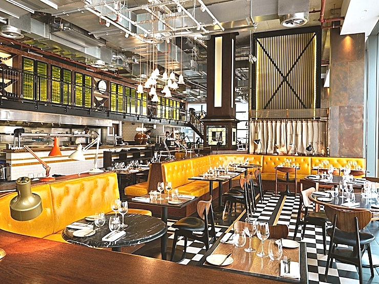 Restaurant **Hire the restaurant at Bread Street Kitchen for a fantastic private dining venue hire in London**  Bread Street Kitchen is a lively and exciting restaurant and bar located in the vibrant One New C