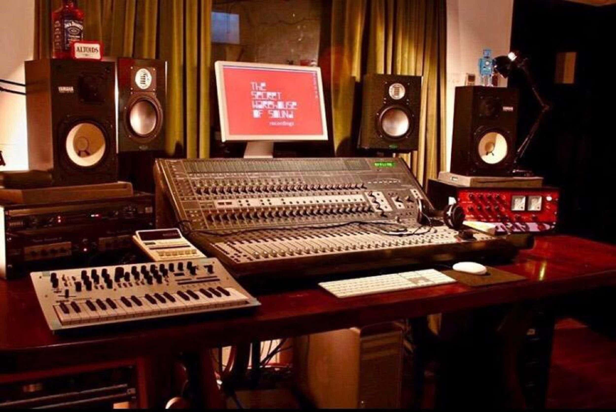Music Studio , The Secret Warehouse Of Sound