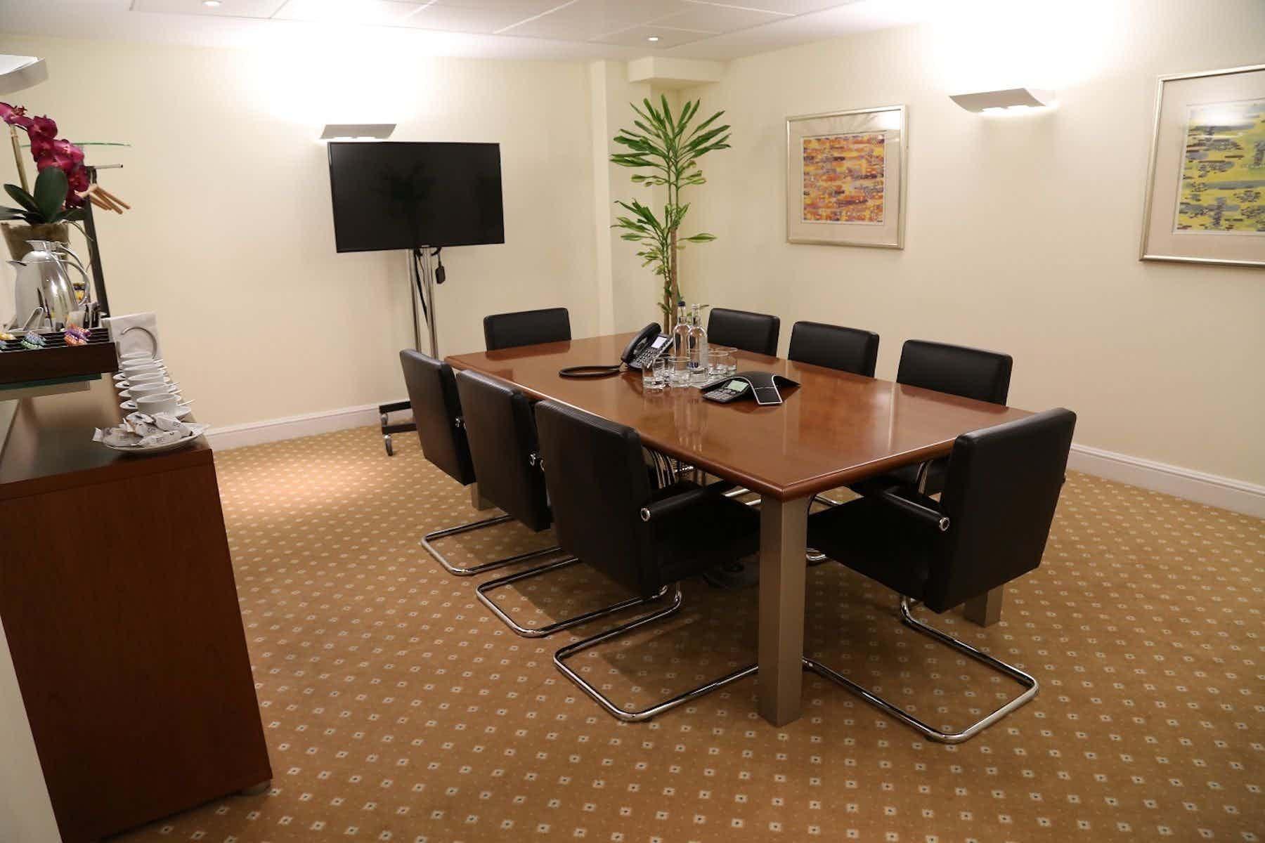 Meeting Room 1, The Argyll Club, 78 Pall Mall
