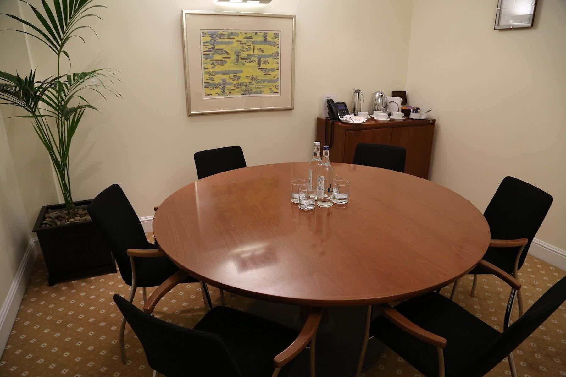 Meeting Room 3, The Argyll Club, 78 Pall Mall